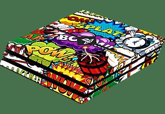 SOFTWARE PYRAMIDE Skins - Sticker für PS4 Pro Konsole, Sticker, Stickerbomb