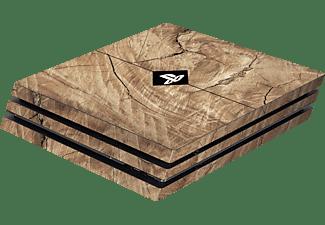 SOFTWARE PYRAMIDE Skins - Sticker für PS4 Pro Konsole, Sticker, Wood