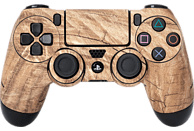 SOFTWARE PYRAMIDE Skins - Sticker für PS4 Controller, Sticker, Wood