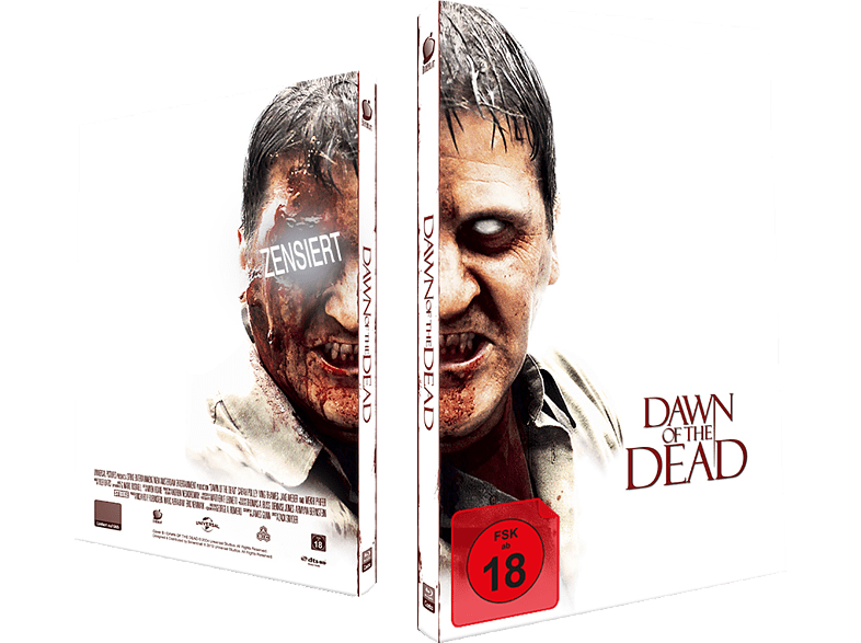 Dawn of the Dead: Exklusives Mediabook, nummeriert, Cover B [Blu-ray]