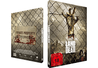 Land of the Dead: Exklusives Mediabook, nummeriert, Cover B Blu-ray