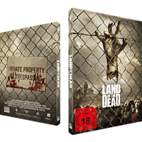 Land of the Dead: Exklusives Mediabook, nummeriert, Cover B Blu-ray