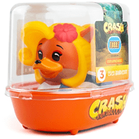 NUMSKULL Tubbz: Crash Bandicoot Coco Bandicoot Entenfigur, Mehrfarbig