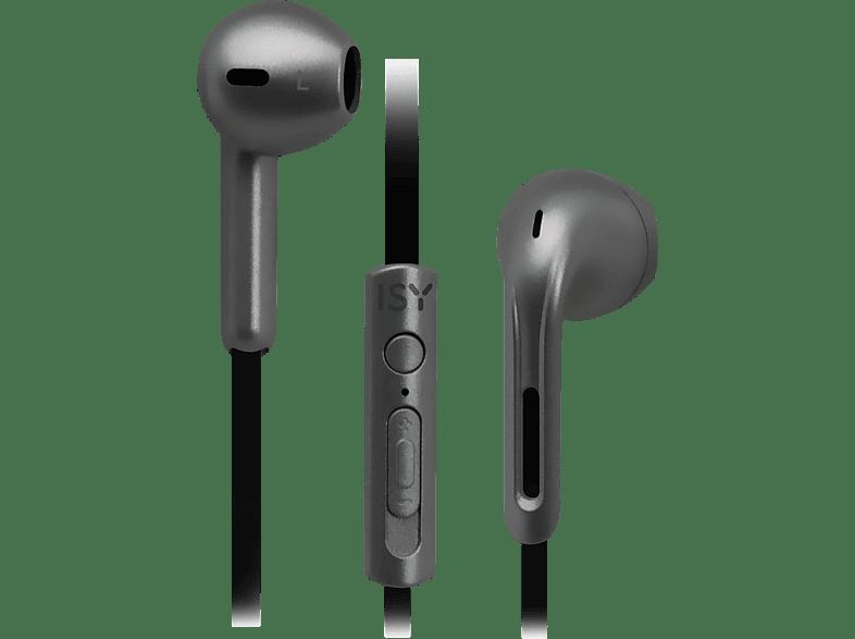 ISY IIE-3700, In-ear Kopfhörer  Grau
