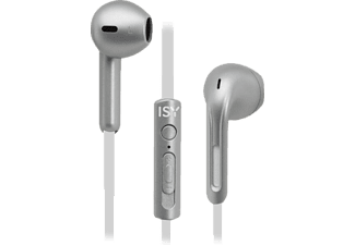 ISY IIE-3700, In-ear Kopfhörer Silber