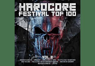 VARIOUS - HARDCORE FESTIVAL TOP 100 VOL. 2  - (CD)