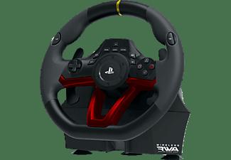 HORI Lenkrad Wireless RWA Racing Wheel Apex, Lenkrad + Pedalen, Schwarz/Rot