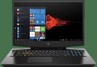 HP OMEN 17-cb0312ng, Gaming Notebook mit 17,3 Zoll Display, Core™ i7 Prozessor, 16 GB RAM, 1 TB SSD, GeForce RTX 2060, Shadow Black