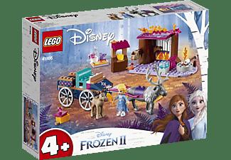 LEGO 41166 Elsa und die Rentierkutsche Bausatz, Mehrfarbig