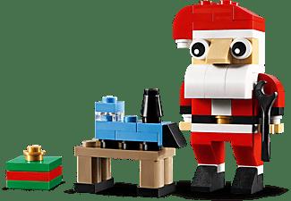 LEGO Weihnachtsmann Bausatz, Mehrfarbig