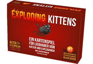 ASMODEE Exploding Kittens Gesellschaftsspiel Mehrfarbig