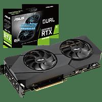 ASUS GeForce® RTX 2080 SUPER™ Dual Evo 8GB (90YV0DJ2-M0NM00) (NVIDIA, Grafikkarte)