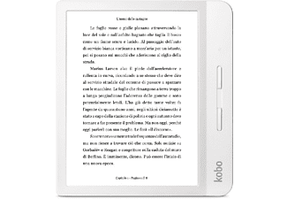 "eReader - Kobo Libra H2O, 7"" HD, 8 GB, Comfortlight PRO, IPX8, Botones laterales, Blanco"