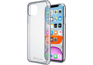 CELLULAR LINE Clear Duo - Custodia (Adatto per modello: Apple iPhone 11)