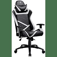 TESORO Zone Speed Gaming Chair Gaming Stuhl, schwarz/weiss