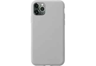 Custodia silicone Sensation Grigio Cellularline per iphone XR