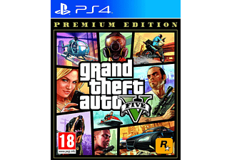 Grand Theft Auto V Premium Edition - [PlayStation 4]