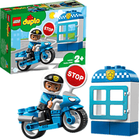 LEGO Polizeimotorrad Bausatz, Mehrfarbig