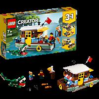 LEGO Hausboot Bausatz, Mehrfarbig