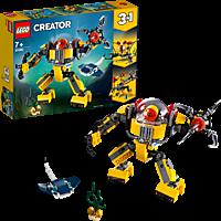 LEGO Unterwasser-Roboter Bausatz, Mehrfarbig