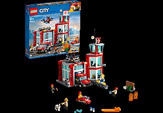 LEGO 60215 Feuerwehr-Station Bausatz, Mehrfarbig