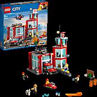 LEGO Feuerwehr-Station Bausatz