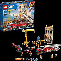 LEGO Feuerwehr in der Stadt Bausatz, Mehrfarbig