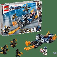 LEGO Captain America: Outrider-Attacke Bausatz, Mehrfarbig
