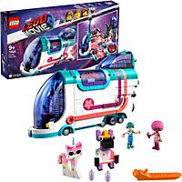 LEGO Pop-Up-Party-Bus Bausatz, Mehrfarbig