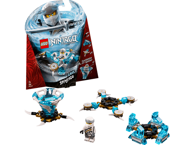 LEGO Spinjitzu Zane Bausatz, Mehrfarbig