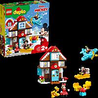 LEGO Mickys Ferienhaus Bauset, Mehrfarbig