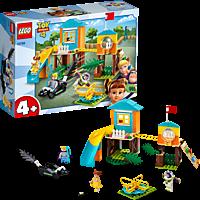 LEGO Buss & Porzellinchens Spielplatzabenteuer Bausatz