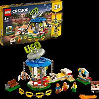 LEGO Jahrmarktkarussell Bausatz, Mehrfarbig