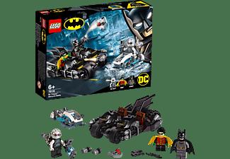 LEGO Batcycle-Duell mit Mr. Freeze™ Bausatz, Mehrfarbig