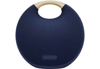 HARMAN KARDON Onyx Studio 6 Bluetooth Lautsprecher, Blau, Wasserfest
