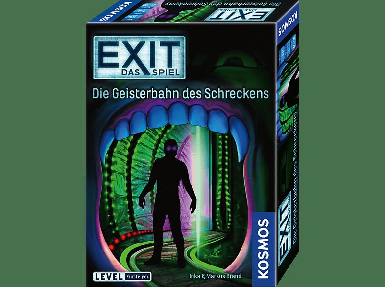 KOSMOS EXIT - Die Geisterbahn des Schreckens Gesellschaftsspiel, Mehrfarbig