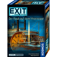 KOSMOS EXIT - Das Spiel: Der Raub auf dem Mississippi Gesellschaftsspiel, Mehrfarbig