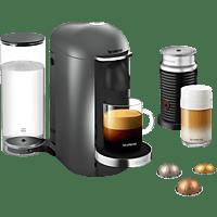 KRUPS XN902T Nespresso Vertuo Plus Bundle Kapselmaschine, Titan