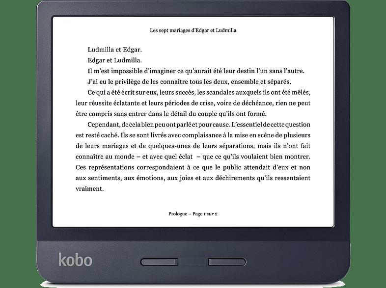 KOBO E-reader Libra H2O Zwart (N873-KU-BK-K-EP)