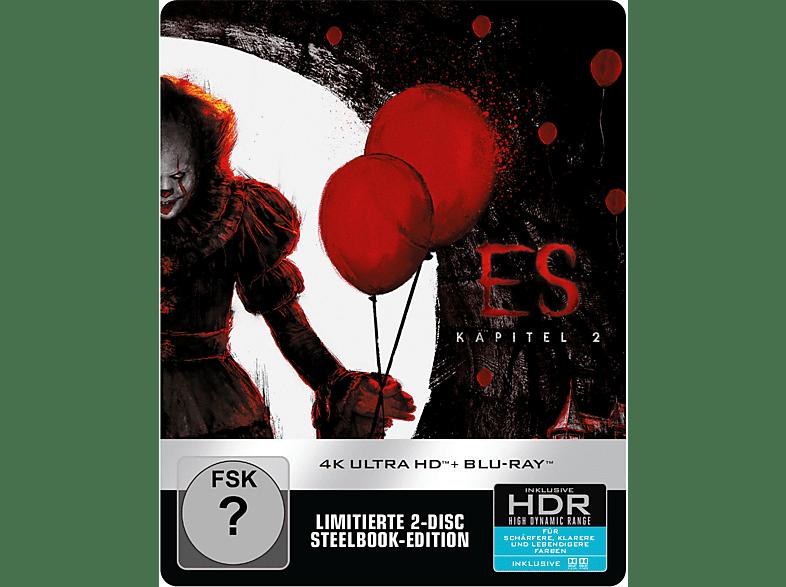 Es - Kapitel 2 (Exklusives Limited Steelbook) [4K Ultra HD Blu-ray + Blu-ray]