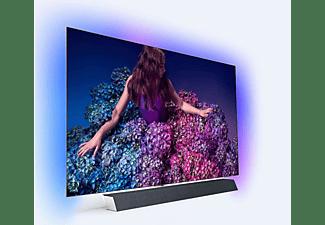 PHILIPS 55OLED934/12 OLED TV (Flat, 55 Zoll / 139 cm, UHD 4K, SMART TV, Ambilight, Android™ 9.0 (P))