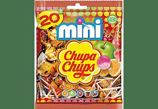 Caramelos - Chupa Chups Mini, Con palo, Sin Gluten, Sabores variados, 20 unidades, 120g