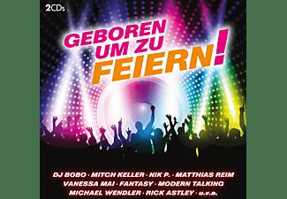 VARIOUS - Geboren um zu feiern  - (CD)
