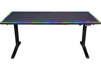 THERMALTAKE Gaming Tisch Level 20 RGB Battlestation, schwarz (GGD-LBS-BKEIRX-01)