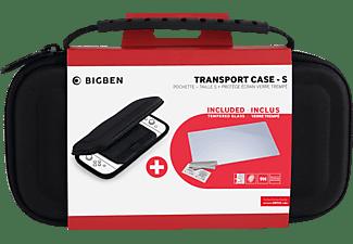 BIGBEN Essential Pack Black  SWITCH™ LITE, Transporttasche/Bildschirmschutzfolie, Schwarz