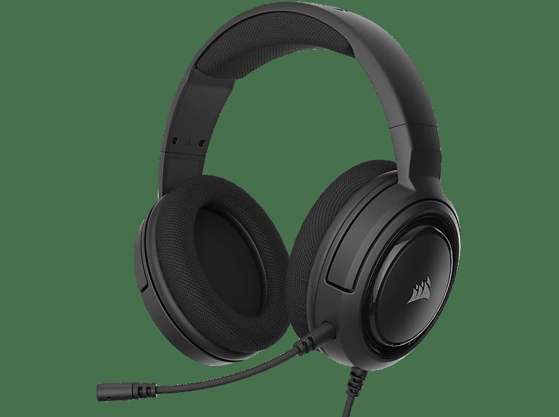 CORSAIR HS35, Over-ear Gaming Headset Schwarz