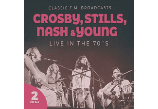 Crosby, Stills, Nash & Young - Live in the 70s-Classic F.M.Broadcasts - (CD)