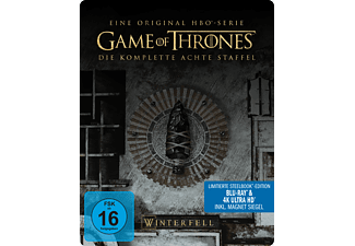 Game of Thrones - Staffel 8 Steel-Edition 4K Ultra HD Blu-ray + Blu-ray