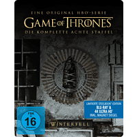 Game of Thrones - Staffel 8 Steel-Edition [4K Ultra HD Blu-ray + Blu-ray]