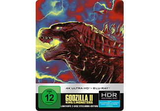 Godzilla II: King Of The Monsters (Steelbook)  4K Ultra HD Blu-ray + Blu-ray